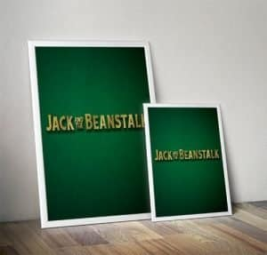 Jack and the Beanstalk Pantomime Poster Mockup