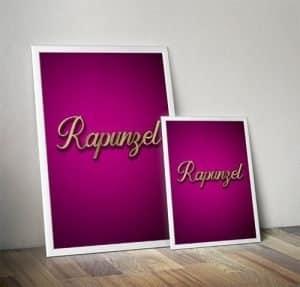 Rapunzel Pantomime Poster Mockup