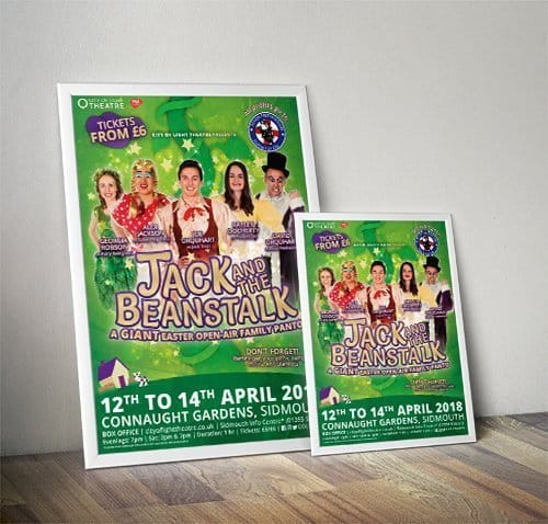 Jack and the Beanstalk Pantomime Poster