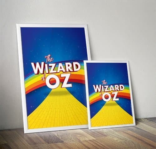 Wizard of Oz Poster Artwork