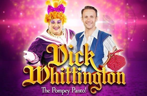 Dick Whittington The Pompey Panto! Portsmouth Artwork